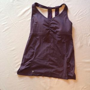 Athleta purple workout tank - size L